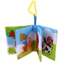 6 Styles Baby Rattle Toy Soft Cloth Books Rustle Sound Infant Educational Stroller Rattle Bed Toy