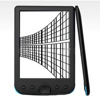 E-Reader For Digital Books 6 Inch High Resolution Display 300 DPI 8GB