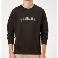 Heartbeat Books Sweatshirt - Black - 4XL - Black