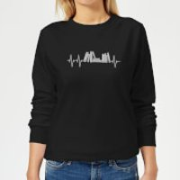 Heartbeat Books Women's Sweatshirt - Black - XS - Black